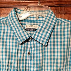 Magellan Outdoors Checked Shirt size L